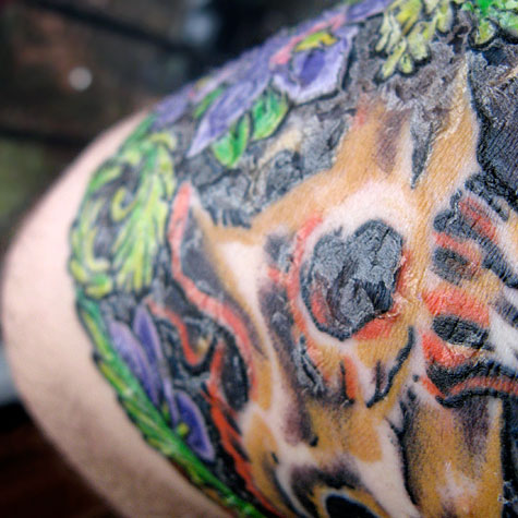 Peeling Triceratops tattoo. Like. Be the first to like this post.