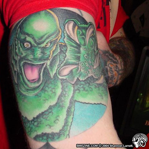 Creature tattoo from BMEink.com