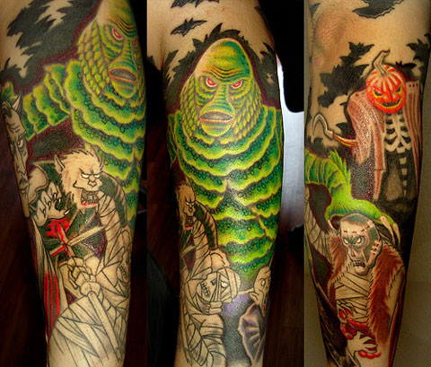 Creature tattoo on flickr