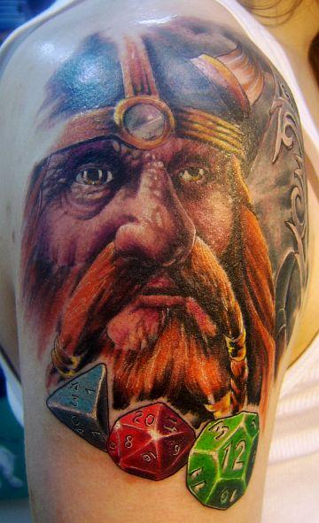 Tattoo by Tim Victim